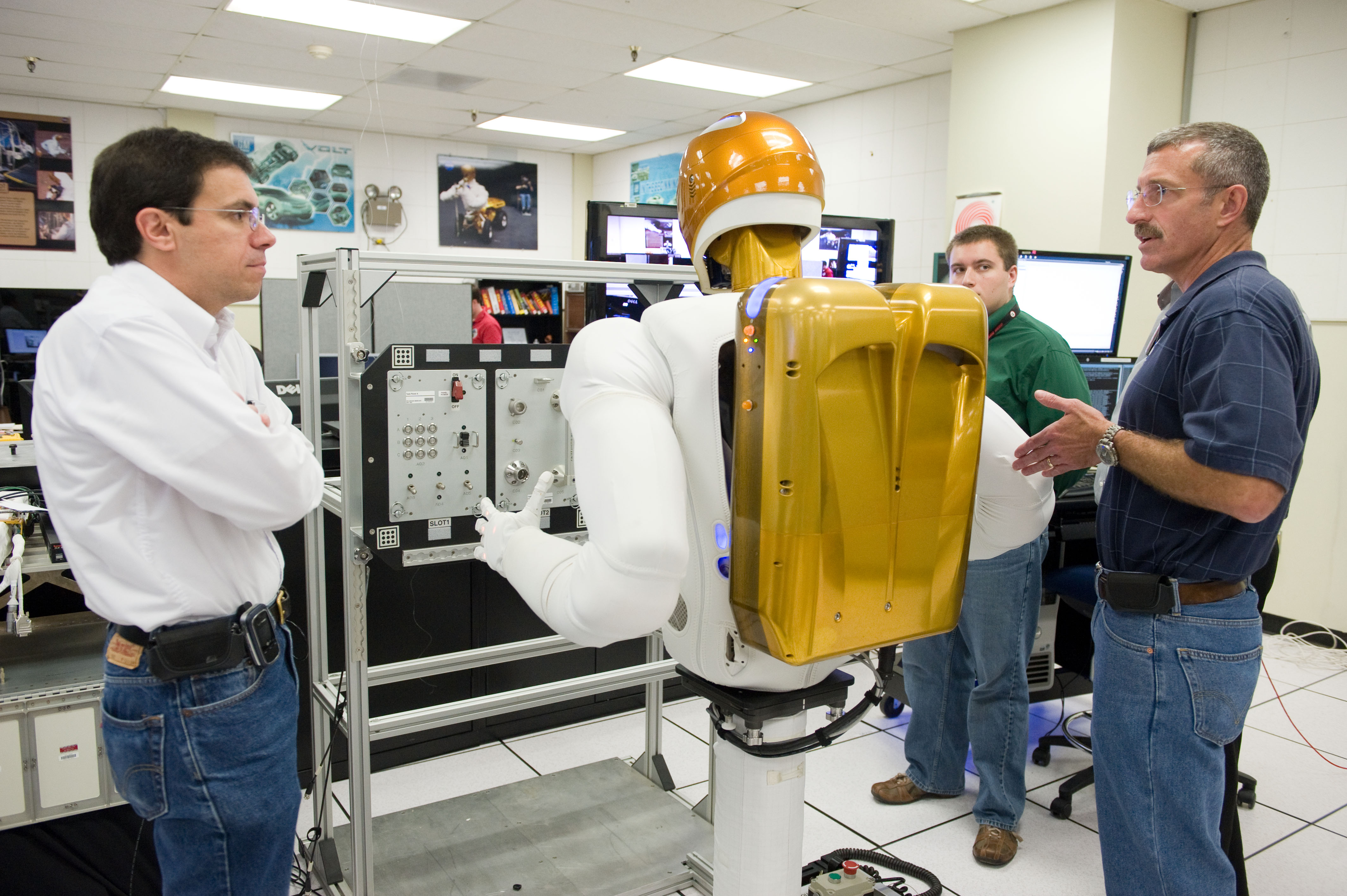 robonaut_2s_back - Industrial Engineering Job Description