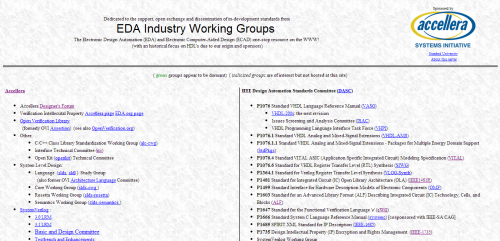EDA Working Groups