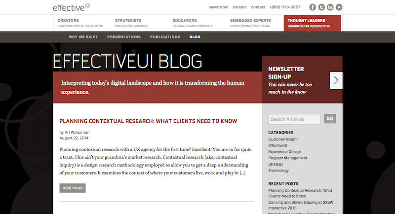 EffectiveUI Blog