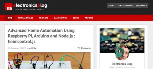 Electronics Blog