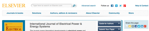 International Journal of Electrical Power & Energy Systems
