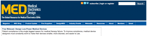 Medical Electronics Design