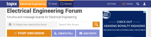 Topix Elec Eng Forum