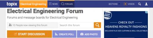 Topix Elec Eng Forum