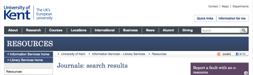 University of Kent Electrical Engineering Journal Search