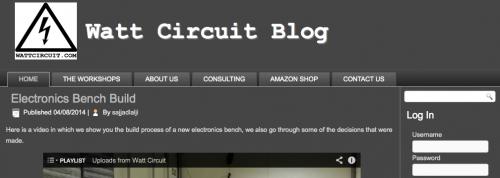 Watt Circuit Blog
