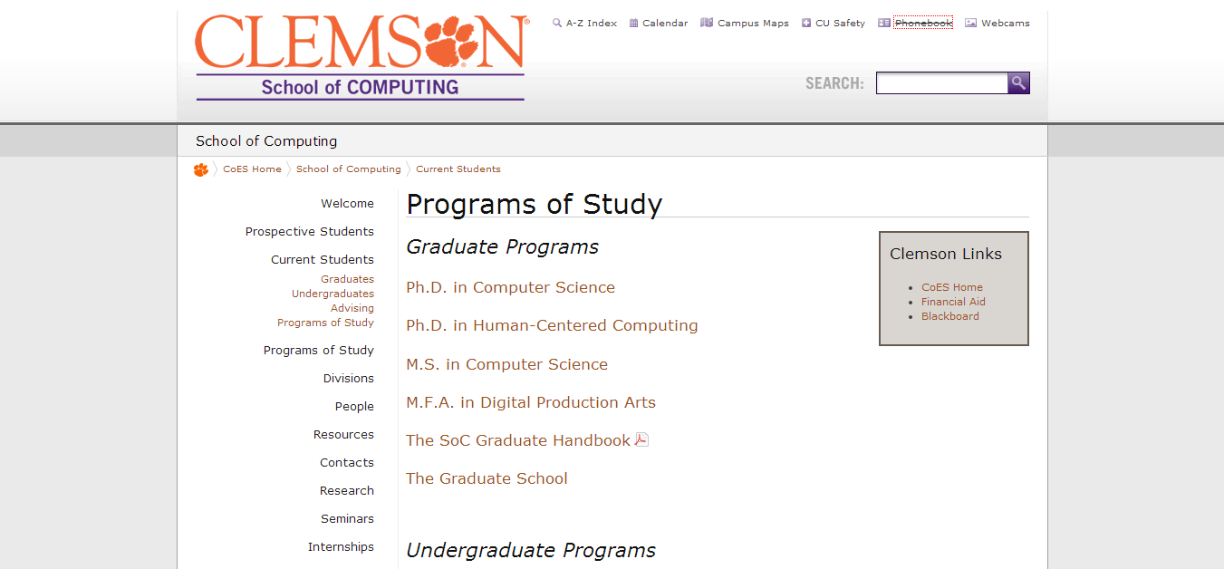 top human centered design and engineering degrees pannam clemson university prepares students to enter the world of evolving technology and computer science students learn to identify and address computer design