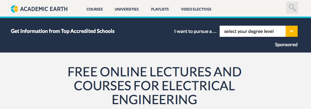 Learn Electrical Engineering 50 Top Online Courses Books