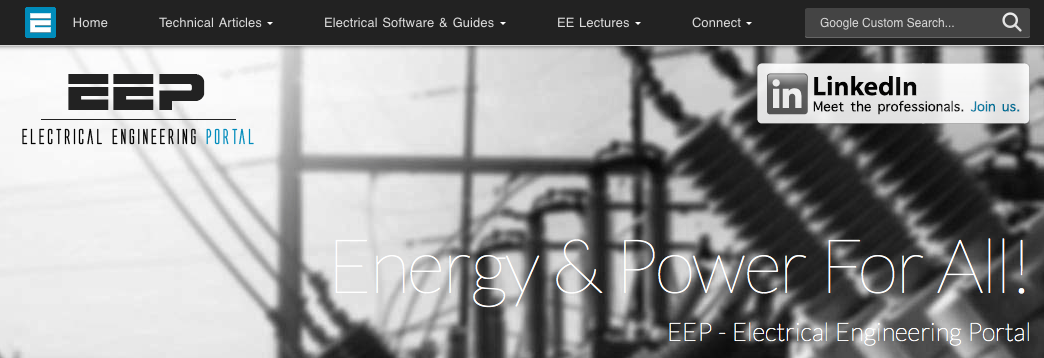 Electrician academic blog portal