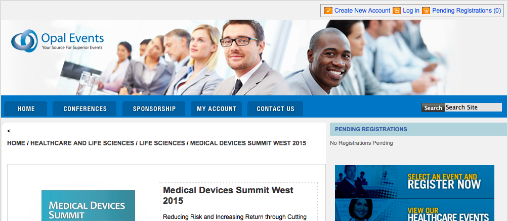 Medical Devices Summit West 2015