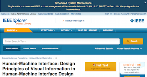 Human-Machine Interface IEEE Xplore