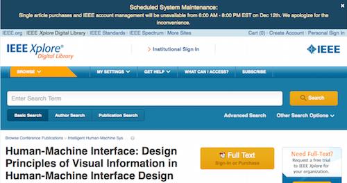 Human-Machine Interface IEEE Xplore