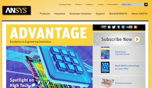 ANSYS Advantage Magazine