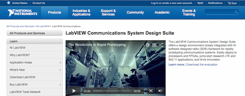 LabVIEW Communications System Design Suite