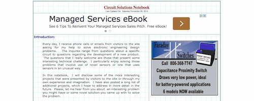 Circuit Solutions Notebook