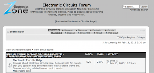 Electronic Circuits Forum