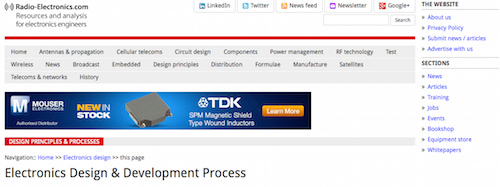 Electronics Design & Development Process