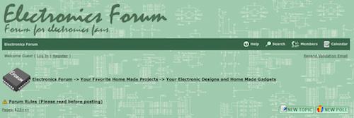 Electronics Forum
