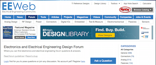 Electronics and Electrical Engineering Design Forum