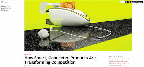 How Smart, Connected Products Are Transforming Competition