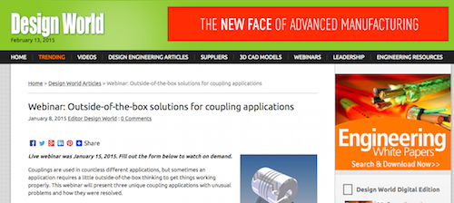 Outside-of-the-box solutions for coupling applications