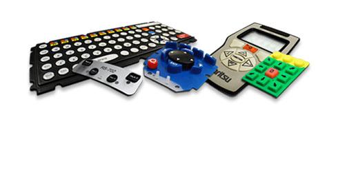 Elastomeric (Rubber) Keypad Assemblies