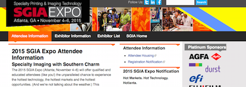 2015 SGIA Expo