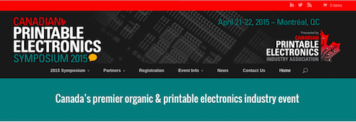 Canadian Printable Electronics Symposium 2015