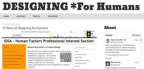 Designing *for Humans