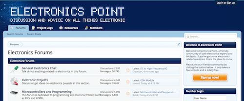 Electronics Point Electronics Forums