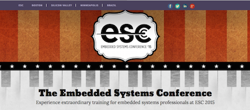 Embedded Systems Conference '15
