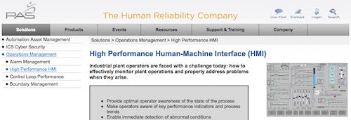 High Performance Human-Machine Interface (HMI)