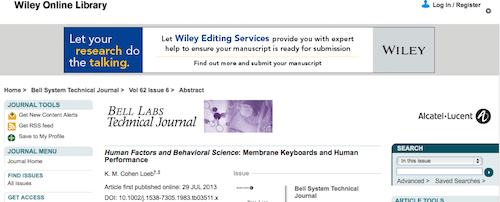 Human Factors and Behavioral Science