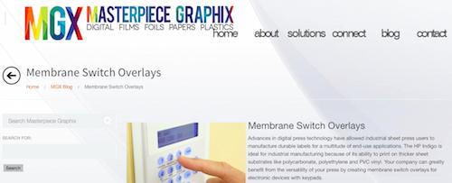 Membrane Switch Overlays