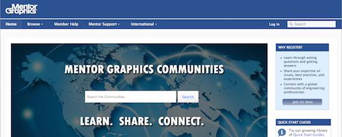 Mentor Graphics Communities