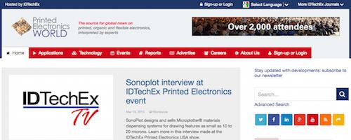 Printed Electronics World