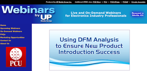 Using DFM Analysis to Ensure New Product Introduction Success
