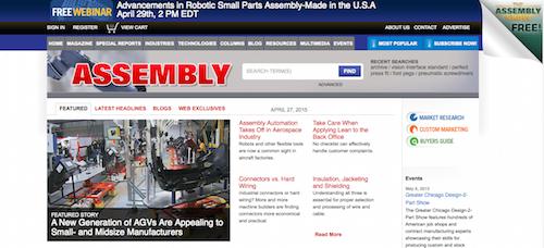 Assembly Magazine