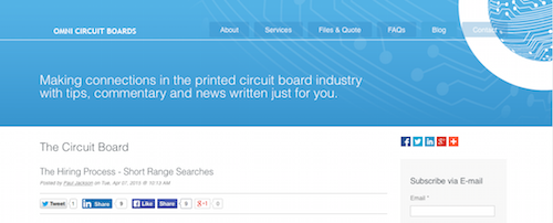 The Top Printed Electronics Blogs: 51 of the Best Blogs