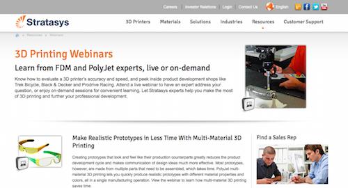 3D Printing Webinars