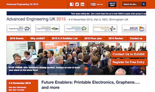 Advanced Enginering UK 2015
