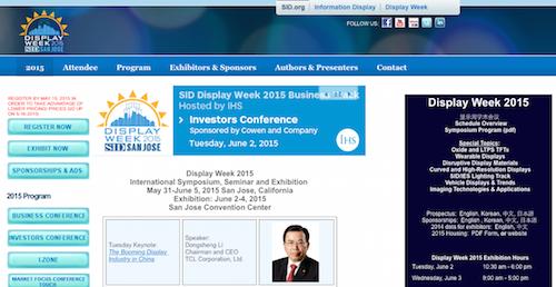 Display Week 2015