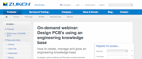 On-demand webinar Design PCB's using an engineering knowledge base