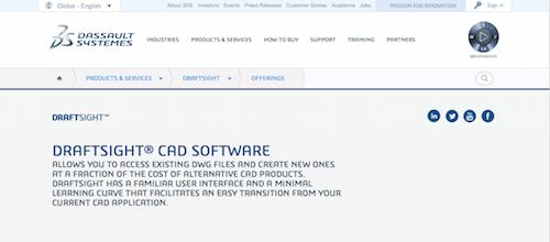 DraftSight CAD Software