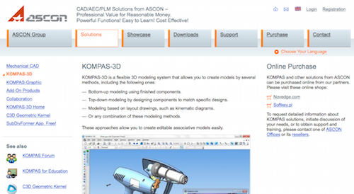 Kompas 3d A Flexible 3d Modeling System Is An Engineering Design Tool That Allows Design Engineers To Create Models Using Several Methods