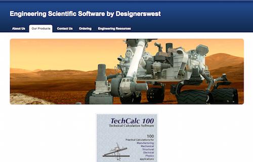 TechCalc 100 Engineering Software