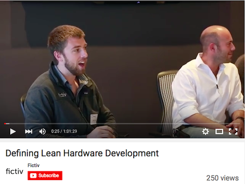 Defining Lean hardware Development