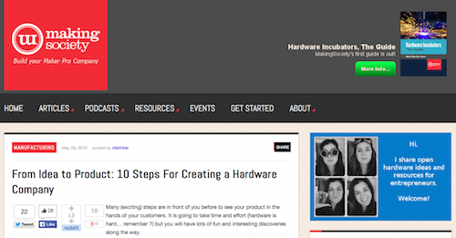 From Idea to Product 10 Steps For Creating a Hardware Company