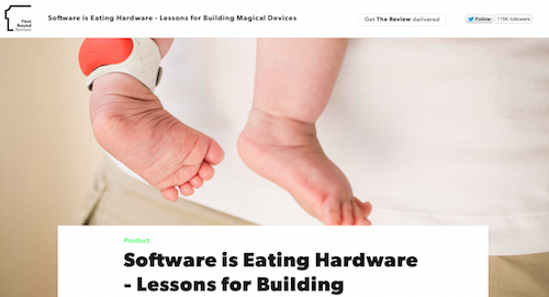 Software is Eating Hardware - Lesons for Building Magical Devices