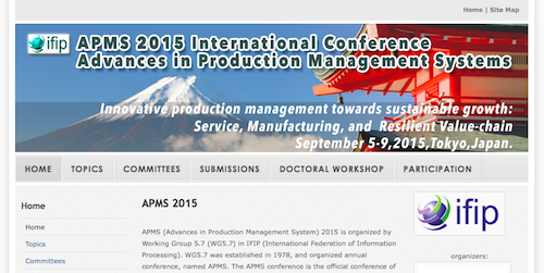AMPS 2015 International Conference